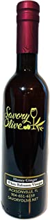 Honey Ginger White Balsamic - Imported from Modena Italy - Gluten Free, No Artificial Flavors, Additives, Color, Preservat...