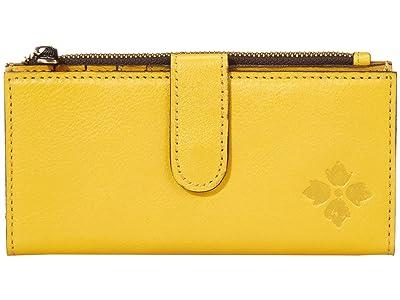 Patricia Nash Nazari Bifold Zip Wallet (Rattan) Wallet Handbags