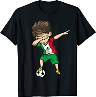 Dabbing Soccer Boy Mexico Jersey Shirt - Mexican Football