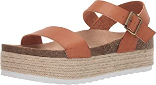 Dirty Laundry by Chinese Laundry Women's PALMS Sandal, SADDLE SMOOTH, 8 M US