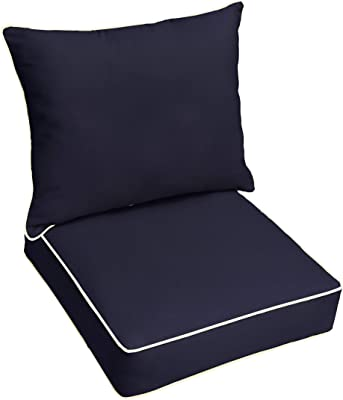 Amazon Com Bossima Cushions For Patio Furniture Outdoor Water