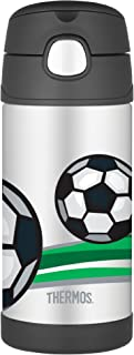 THERMOS Bouteille-Fontaine Isotherme Motif Football 355 ML