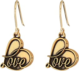 Alex and Ani - Love Hook Earrings