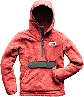 The North Face Men Campshire Pullover Hoodie in Caldera Red/Asphalt Grey XL