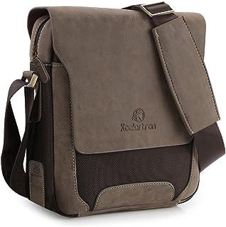 Koolertron Umhängetasche, Schultertasche Messenger Bag Modern Fashion Studententasche für Frauen und Herren