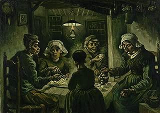 Sumilace Oil Paintings Canvas Vincent Van Gogh Art Prints (The Potato Eaters, 1885) Art Work for Home Decorations - 31