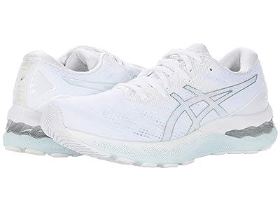 ASICS GEL-Nimbus(r) 23 (White/Pure Silver) Women