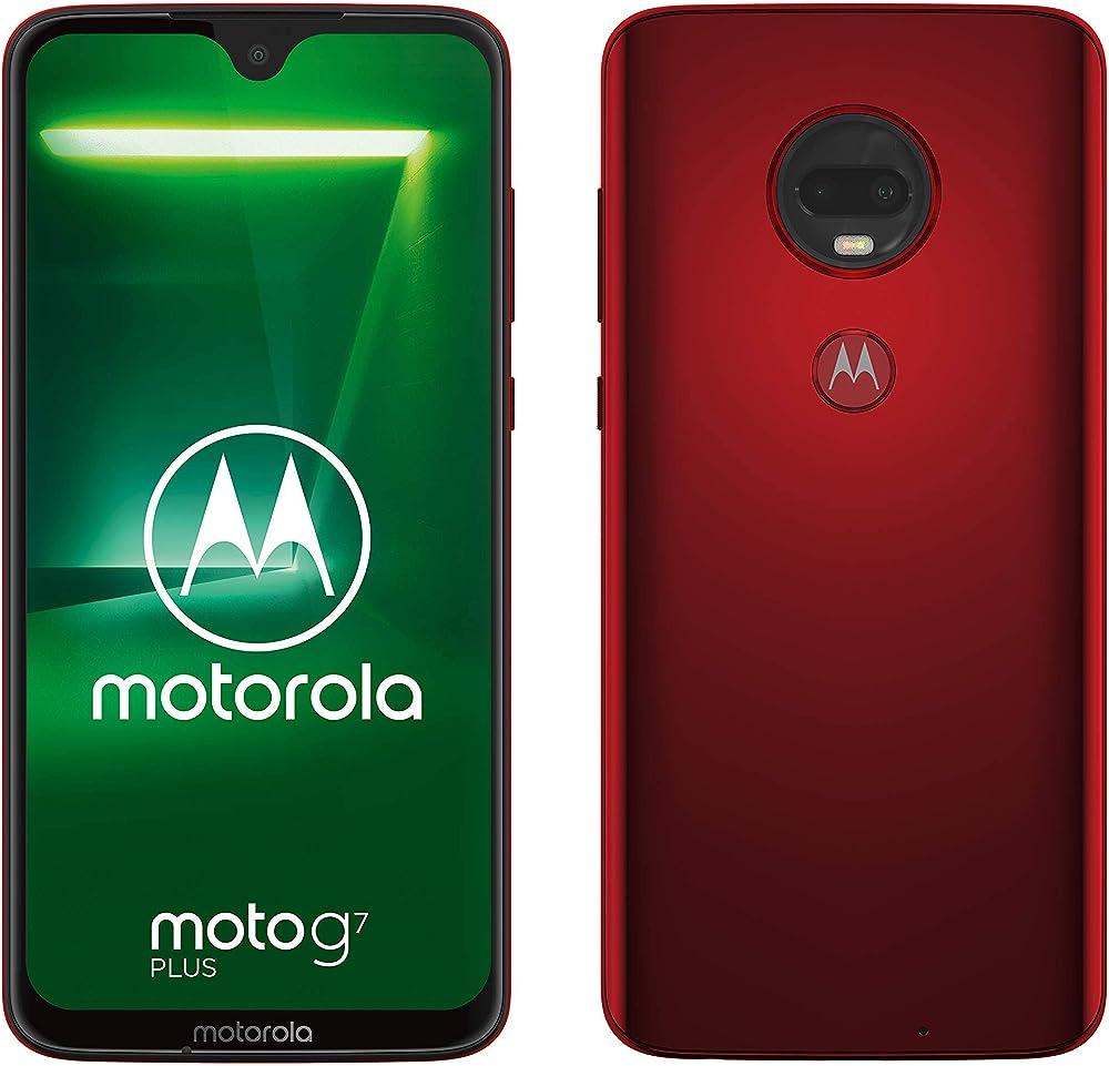 Motorola moto g7 plus, smartphone android 9.0 dual camera da 16mp, 4/64 gb, dual sim PADU0017IS