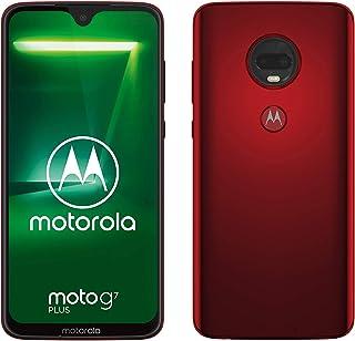 "moto g7 plus smartfon Dual-SIM (wyświetlacz 6,2"", podwójny aparat 16 MP, 64 GB/4 GB, Android 9.0) Viva Red"