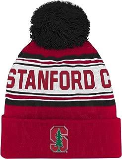 NCAA Stanford Cardinal Toddler  Outerstuff Jacquard Tassel Knit Hat w/ Pom, Team Color , Toddler