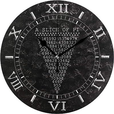 MIKA 利発 切れ a Pi ダイヤル 壁掛け時計 壁時計 かけ時計 壁掛け おしゃれ 飾り物 音しない 静音 オブジェ ウォールクロック インテリア掛時計 北欧 新築祝い プレゼント 壁掛式