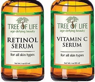 Flawless. Younger. Perfect. Serum Combo Pack - Vitamin C Serum, Retinol Serum (2 Ounce)