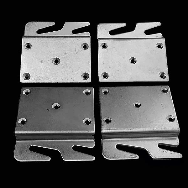 Offset Bed Rail Hook Plates 4 00 3 50