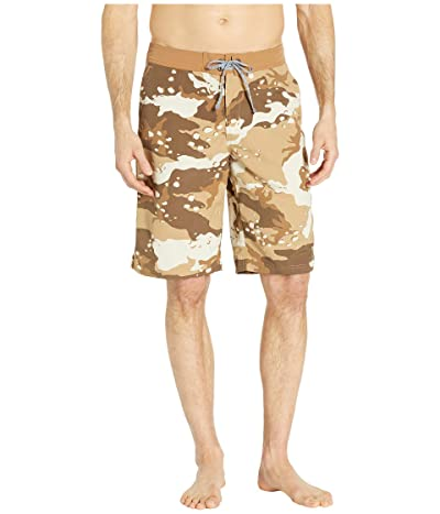 The North Face Classic V Boardshorts (Moab Khaki Woodchip/Camo Desert Print) Men