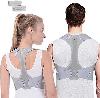 comprar comparacion ANOOPSYCHE Corrector de Postura Espalda Hombros Para Hombre y Mujer Talla Asjustable Chaleco Corrector de Postura Transpir...