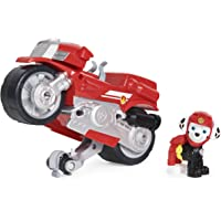 Deals on Paw Patrol Moto Pups Marshalls Deluxe Pull Back Motorcycle