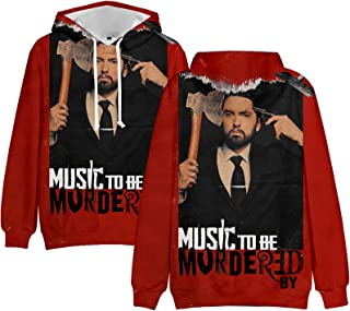 That's all Eminem 3D Printing Hoodie Music to be Murdered by for Boys Girls Men's Hip Hop Long Sleeve Pullover Sweatershir...