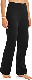 Athletic Works Women's Bootcut Fit Dri-More Core Cotton...