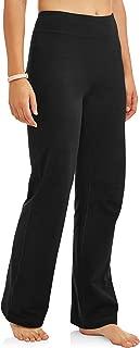 Women's Bootcut Fit Dri-More Core Cotton Blend Yoga Pants...