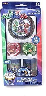 PJ Masks Cupcake Decorating Kit ~ 24 count