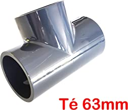 Lote de 5 manguitos /Ø 50 mm interior PVC presi/ón PN16