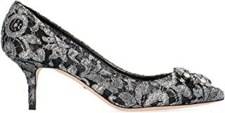 DOLCE E GABBANA Luxury Fashion Womens CD0066AE63787505 Silver Pumps | Season Permanent