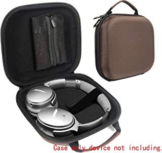 Espresso Headphone Case for Plantronics BackBeat PRO 2; ATH-M50X, ATH-M50, ATH-MSR7GM, MSR7NC, MSR7BK, ESW10, ES88, WS77, Live 2; Master & Dynamic MW65, MW60, MW50+, Beoplay H2, H4, H6, H7, H8, H9;