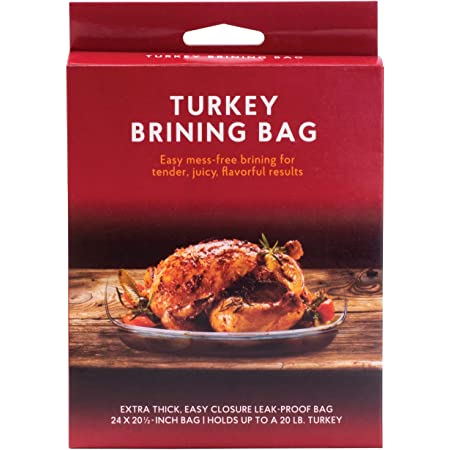 HIC Harold Import Co. Turkey Brining Bag, Holds 20-Pound