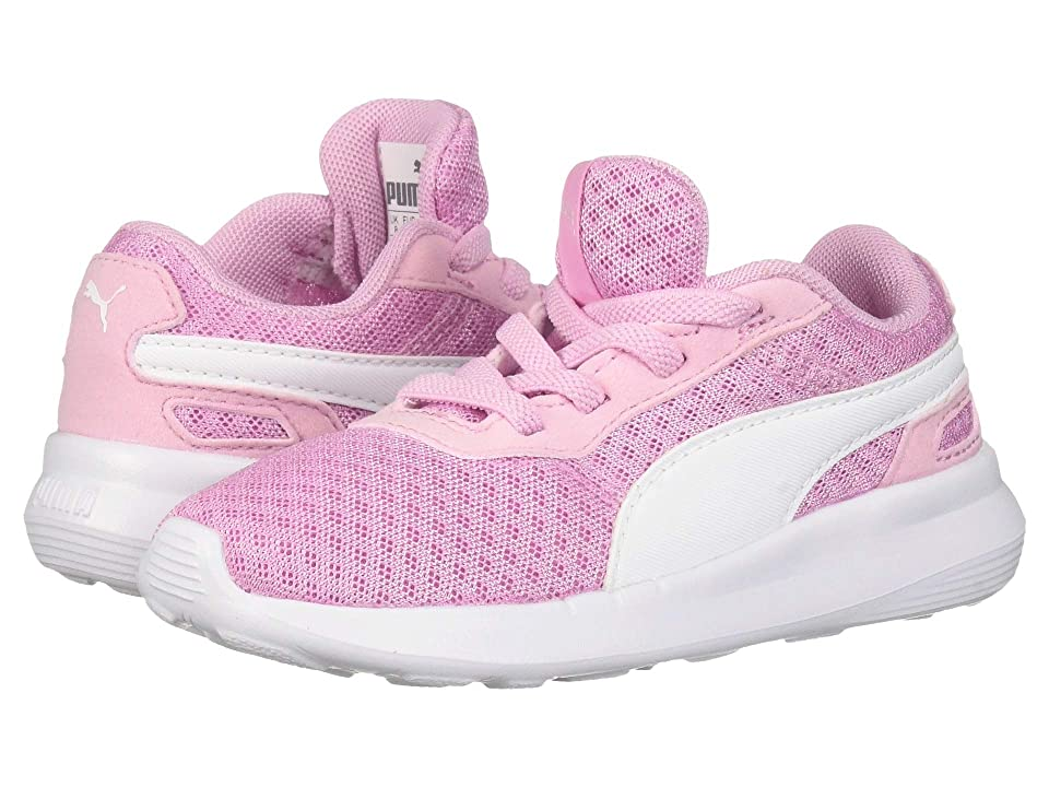 Puma Kids ST Activate AC (Toddler) (Pale Pink/Puma White) Kids Shoes