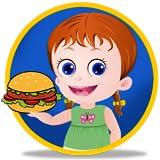 Burger Wraps Cooking Baby Emma