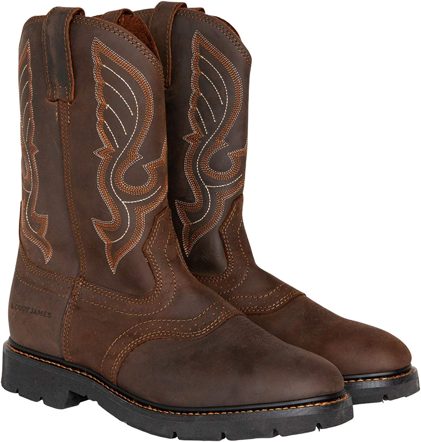 Cody James Men's Western 35% OFF Same day shipping Pull On Boot Round C9rr2 Toe Work -