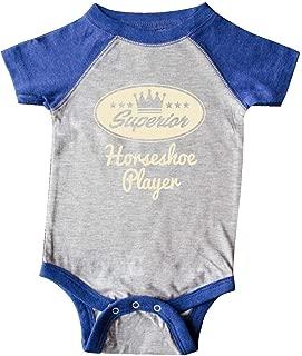 inktastic Horseshoe Player Vintage Superior Infant Creeper