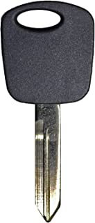 qualitykeylessplus Replacement Transponder Chip Key H72PT for Ford Vehicles with Free KEYTAG