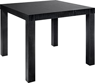 Dorel Home Products Parsons Modern End Table, Black