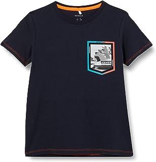 NAME IT Nkmzalex SS Top Camiseta para Niños