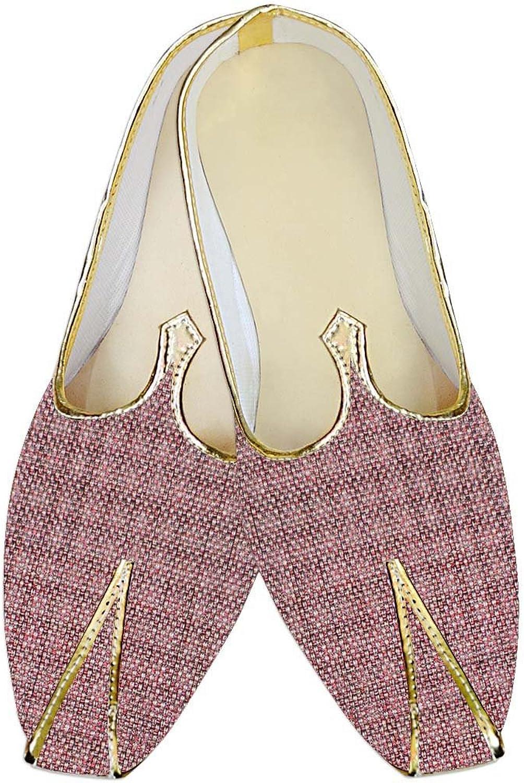 INMONARCH Mens Plum Wedding shoes Bollywood MJ014141