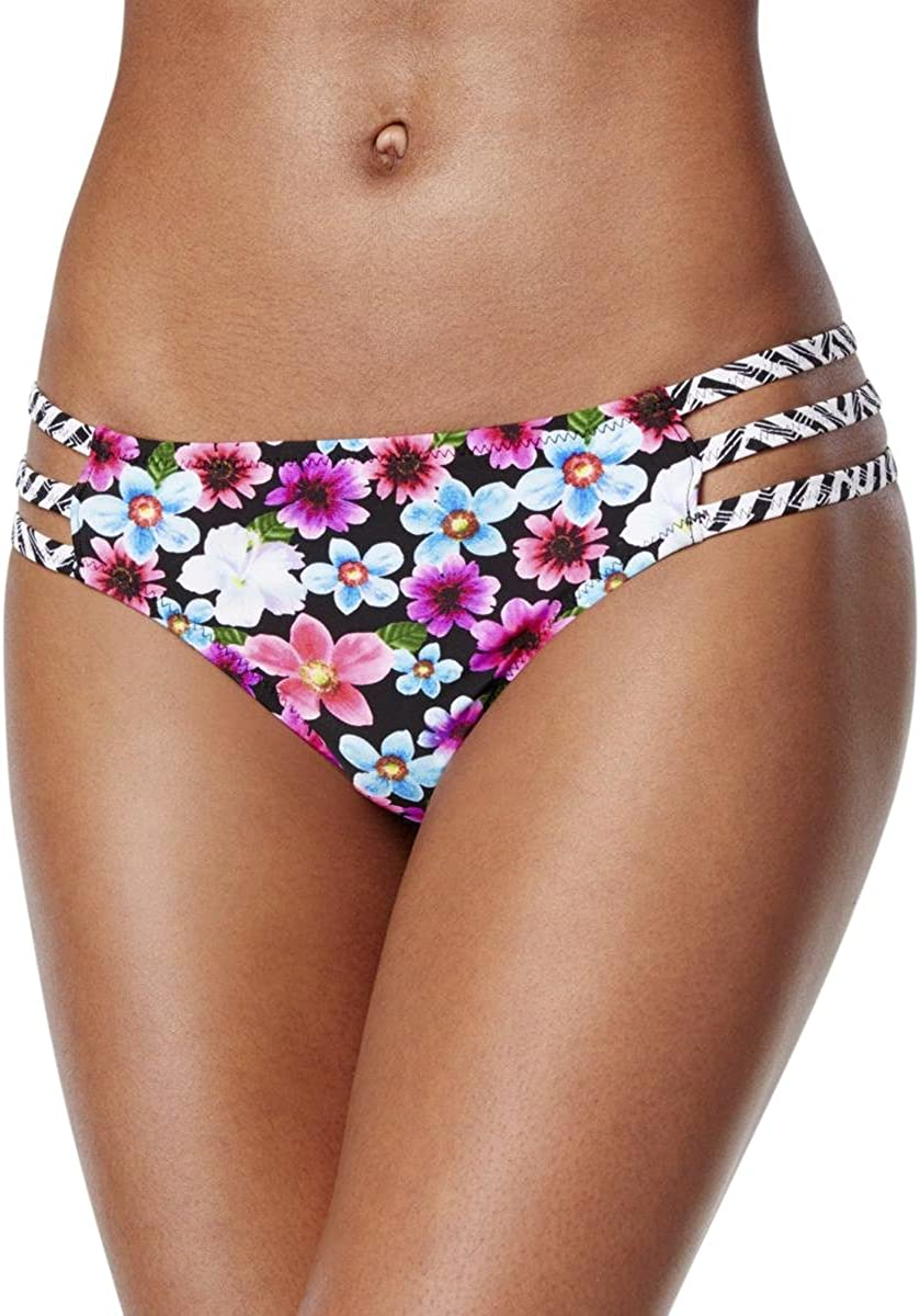 Jessica Simpson Women's Botanica Side Strap Hipster Bikini Bottom