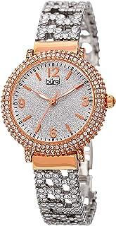 ساعة للنساء بمينا فضية وسوار مصنوع من الخليط المعدني من بورغي - BUR140RG