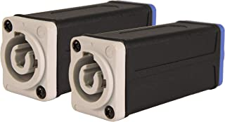 Virtue Industries | Professional Compatible PowerCon Coupler | 2-Pack