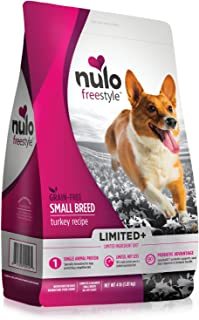 Nulo Small Breed Freestyle Limited Plus Grain Free Dry Dog Food: All Natural Limited Ingredient Diet for Digestive & Immun...