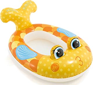 JEWELS FASHION Pool Cruisers - Float Outdoor Playtime Pool - Smooth Seams, Sturdy Construction & Bright Colors Make This Pool Float A Fun Way to Ride Summer Waves (Fish Pool Cruiser)