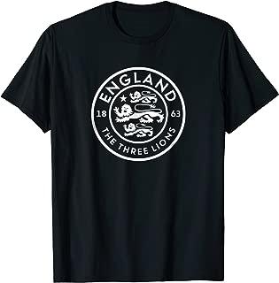 England Football Soccer National Fan Team Lions T-shirt