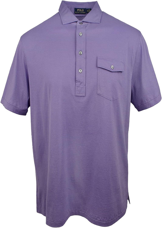 d58fc355ba48 Polo Ralph Ralph Ralph Lauren Men's Classic Fit Lisle Cotton Polo Shirt  f4090e