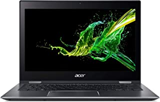 "Acer Spin 5 SP513-53N-783S Convertible Laptop, Intel Core i7-8565U, 13.3"" Multi-touch FHD, 512GB SSD, 8GB RAM, Intel UHD, Win10, Eng-Ara KB, Black"