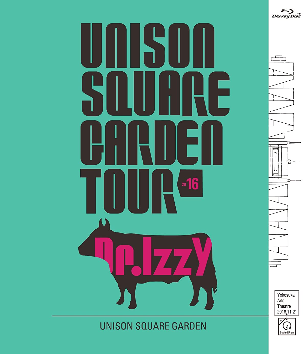 概要びんプレゼンUNISON SQUARE GARDEN TOUR 2016 Dr.Izzy at Yokosuka Arts Theatre 2016.11.21[Blu-ray]