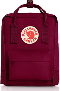 Kanken Mini Classic Backpack for Everyday (Plum)