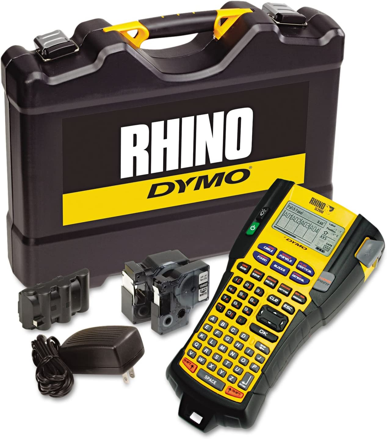 DYMO Max 86% OFF 1756589 Rhino 5200 Industrial Label Kit 4 Maker Lines OFFicial 9 5