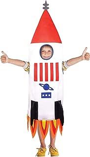 Bristol Novelty CF156 Rocket Ship (One Size) Costume, Boys, Girls, Multi-Colour