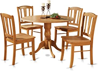 oak kitchen table with chairs