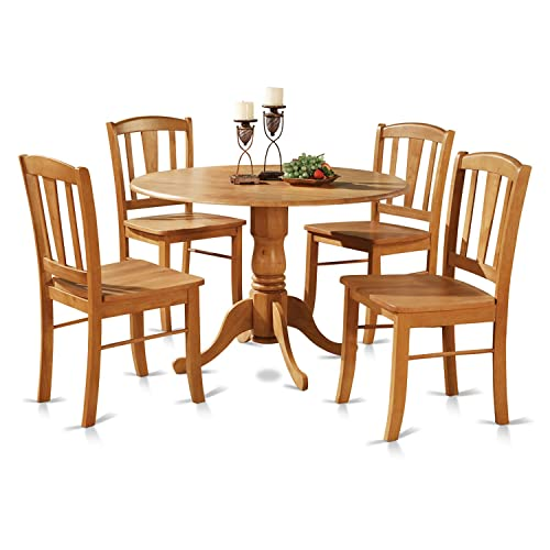Oak Dining Room Set Amazon Com